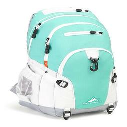 High Sierra Loop Backpack, Aquamarine/White/Ash New