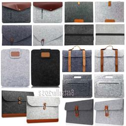 "For MacBook Air Pro 11"" 13"" 15"" Woolen Envelope Laptop Bag C"