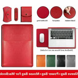 for Macbook Pro Air 13 15 inch Waterproof Leather Laptop Sle