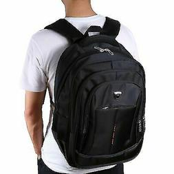 "Men's 17"" Laptop Backpack Hiking School Bag Travel 3D outdoo"