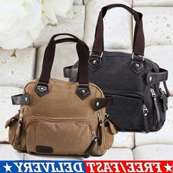 Men's Leather Messenger Shoulder Bags Business Work Briefcas