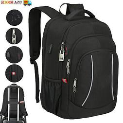 Mens Laptop Backpack Extra Large Anti Theft Waterproof RFID
