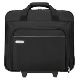 Targus Metro Rolling Case for 16-Inch Laptop, Black