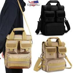 Military Tactical Molle Messenger Shoulder Bag Camping Brief