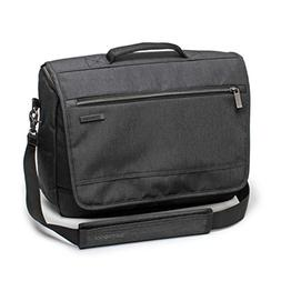 Samsonite Modern Utility Messenger Bag Laptop, Charcoal Heat