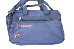 Trafalgar Tours Multi-Pocketed Luggage Tote Laptop Bag Navy