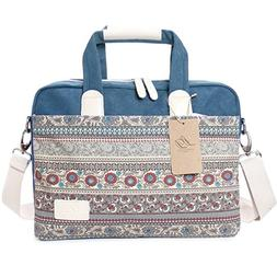 La Desire 15-15.6 Inch Multicompartment Laptop Bags Canvas B
