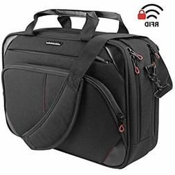KROSER Multicompartment Laptop Messenger Bag 15.6 inch Canva
