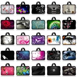 Neoprene Sleeve Laptop Computer Case Bag with Handle Fit 10