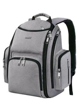 new diaper bag laptop backpack water resistant