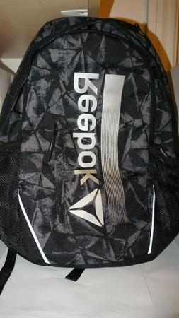 Reebok New Trainer Pack BagPack Book Bag Workout Padded LapT