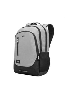 "Solo New York Region 15.6"" Backpack, Gray Laptop Bag, Fully"
