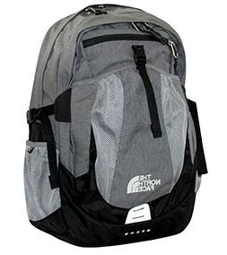 The North Face Men's Recon laptop backpack book bag grey hea