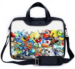 "MySleeveDesign 15 - 15.6"" Notebook Carry Bag Laptop Bag with"