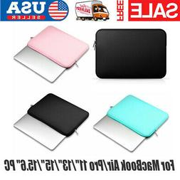 Notebook Laptop Sleeve Soft Bags Case For MacBook Air/Pro 11