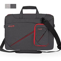 Ropch Laptop Bag 15.6 Inch Briefcase Shoulder Messenger Bag
