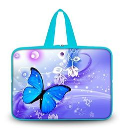 """OHS17-020 New Fashion Arts Design Blue butterfly 16""""/ 16.5""""/"""