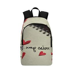 IIAKXNB On The Notebook I Miss You Casual Daypack Travel Bag