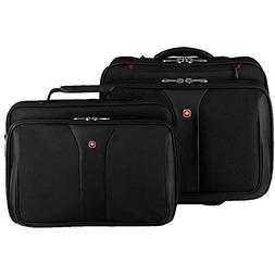 Wenger Patriot Rolling Case Blk Up To 17IN Laptop with noteb