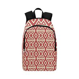 XINGCHENSS Pattern Texture - Decor Casual Daypack Travel Bag