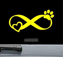 pet love infinity vinyl decal