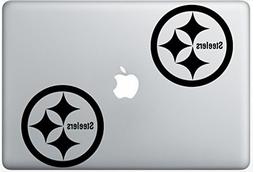 Pittsburg Steelers Logo HenryDecalZD0328 Set Of Two  , Decal