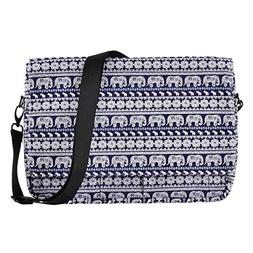 XeYOU Polyester Fabric Water-Resistant Laptop Shoulder Brief