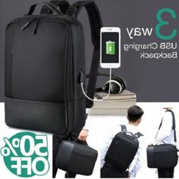 New Premium Anti-theft Laptop Backpack Bag with USB Charger