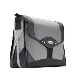 "Mobile Edge Premium Laptop Messenger Bag 15.4"" Black w/Silve"