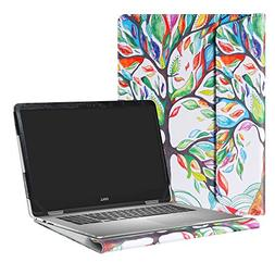 """Alapmk Protective Case Cover For 15.6"""" Dell Inspiron 15 2-in"""