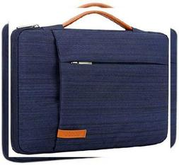 9538ffe18fed Lacdo 360° Protective Laptop Sleeve Case Briefcase Compatib