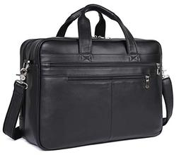 """Polare Real Soft Nappa Leather 17"""" Laptop Case Professional"""