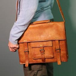 reliable men s real vintage brown leather