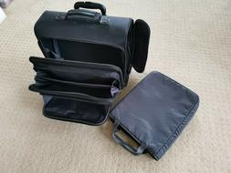 Solo Rolling Laptop Bag Travel-friendly Rolling Briefcase wi