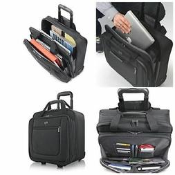 Rolling Laptop Case 17.3 Inch Bag With Wheels Computer Rolle
