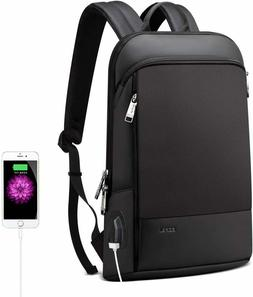 slim backpack 15 inch laptop usb charging