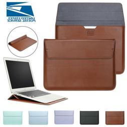 Slim Leather Laptop Sleeve Bag Case Cover For MacBook Air 11