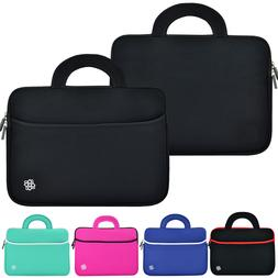 "Slim Neoprene Laptop Sleeve Case Carry Cover Bag for 11"" 12"""