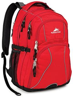 High Sierra Swerve Laptop Backpack, Crimson/Black