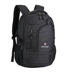 """Swiss Ruigor 6166 Water Resistant Backpack Fit For 15.6"""" Lap"""