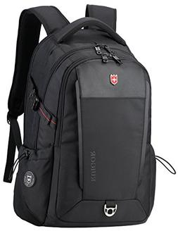 "Swiss Ruigor 6426 Water Resistant Backpack Fit 15.6"" Laptop"