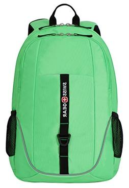 Swiss Gear SA6639 Neon Yellow Laptop Backpack - Fits Most 15