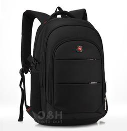 "Travel 17"" Laptop Backpack School Bag Hiking Rucksack Should"