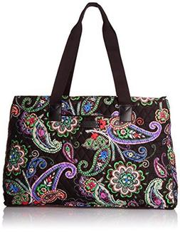 Vera Bradley Triple Compartment Travel Bag,  Cuban Tiles wit