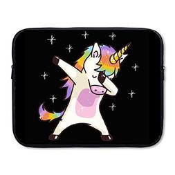Unicorn Cute Dabbing Funny Dab Dance Gift Sleeve For 15 Inch