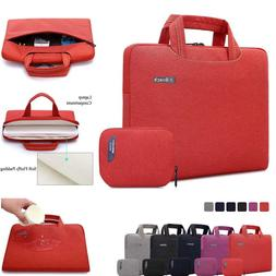 "Unisex 13-15.6"" Laptop Messenger Bag with Accessory Bag for"