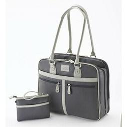 Mobile Edge 16-Inch Verona Laptop Tote, Graphite