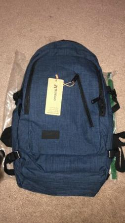 water resistant laptop backpack with usb charging