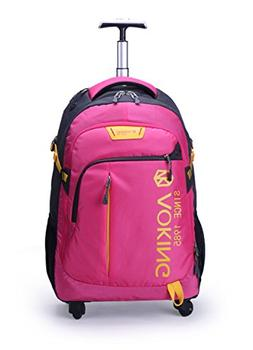 AOKING 20/22 Inch Water Resistant Travel School Business Rol