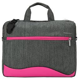 VanGoddy Wave Briefcase / Messenger Bag for Dell 14 to 15.6-